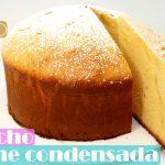 BIZCOCHO de LECHE CONDENSADA (SIN HORNO NI MICROONDAS)🍰🥛 Muy ALTO Y ESPONJOSO🍰🥛