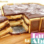 TARTA de la ABUELA DELICIOSA🍰👵🏼🎂 (crema, galleta y chocolate) Receta fácil🍰👵🏼🎂