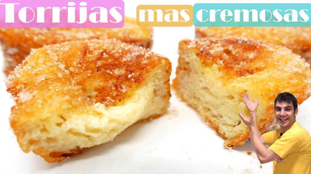 TORRIJAS MAS CREMOSAS Y CRUJIENTES 🥖🥞 (Torrejas, tostadas francesas)🥖🥞