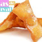 OREJAS de CARNAVAL las MAS CRUJIENTES🥟😍 ( Orelletes Tortas u Hojuelas)🥟😍