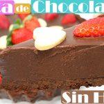 TARTA de CHOCOLATE SIN HORNO 🍫🍰🎂 (FÁCIL y DELICIOSA)🍫🍰🎂