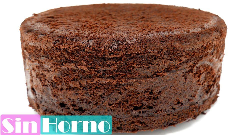 BIZCOCHO de CHOCOLATE SIN HORNO 🎂🍫🍰¡ ALTO JUGOSO y ESPONJOSO!  Perfecto.🎂🍫🍰