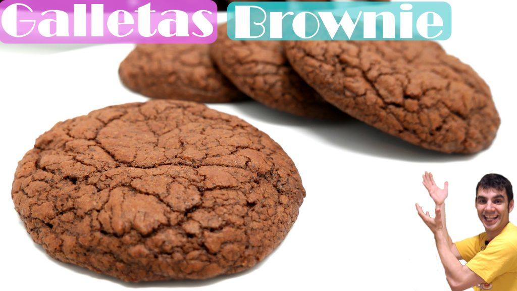 GALLETAS BROWNIE (MUY FÁCIL, RICAS y de COOKIES de CHOCOLATE)🍪🍫🍪