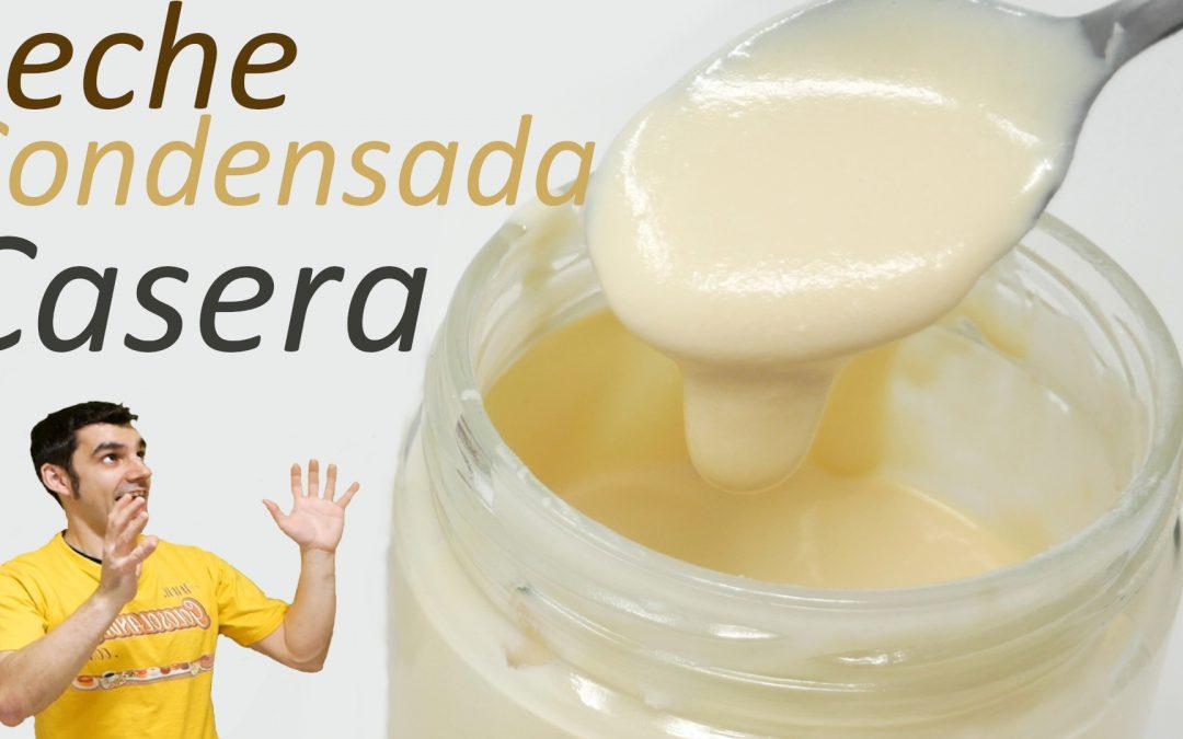 LECHE CONDENSADA CASERA 🥛😍🥛(receta MUY FÁCIL, RÁPIDA y DELICIOSA)🥛😍🥛