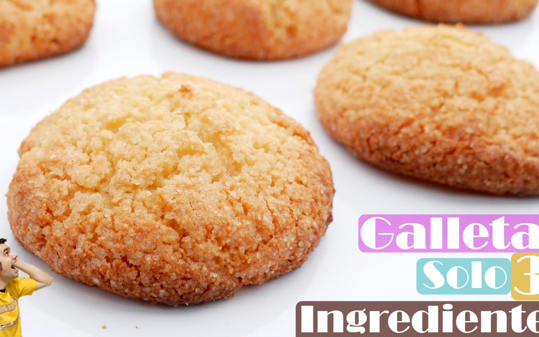Galletas tres ingredientes