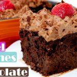 PASTEL TRES LECHES de chocolate 🎂3🥛🍫(el MÁS RICO y FÁCIL, INCREÍBLE)🎂3🥛🍫