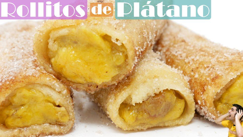 Rollitos de plátano