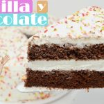 ¿La MEJOR? TARTA de VAINILLA y CHOCOLATE 🍫🎂 Deliciosa jugosa e ideal para celebraciones o cumpleaños