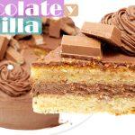 TARTA de CHOCOLATE y VAINILLA 😍🎂😍 | Triunfa en tus FIESTAS