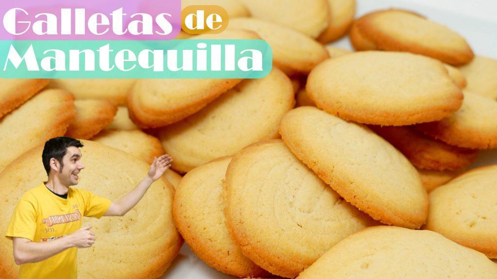 RECETA FÁCIL de GALLETAS de MANTEQUILLA caseras | las virales PASTAS de TE o DANESAS😍🍪😍