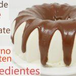 NIDO de LECHE con CHOCOLATE (POSTRE SIN HORNO y SIN GLUTEN con 5 INGREDIENTES)😋🍫🥛