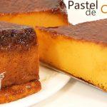 PASTEL de CALABAZA ( ALTO y CREMOSO PUDIN)🍰🎃 | receta FÁCIL🍰🎃