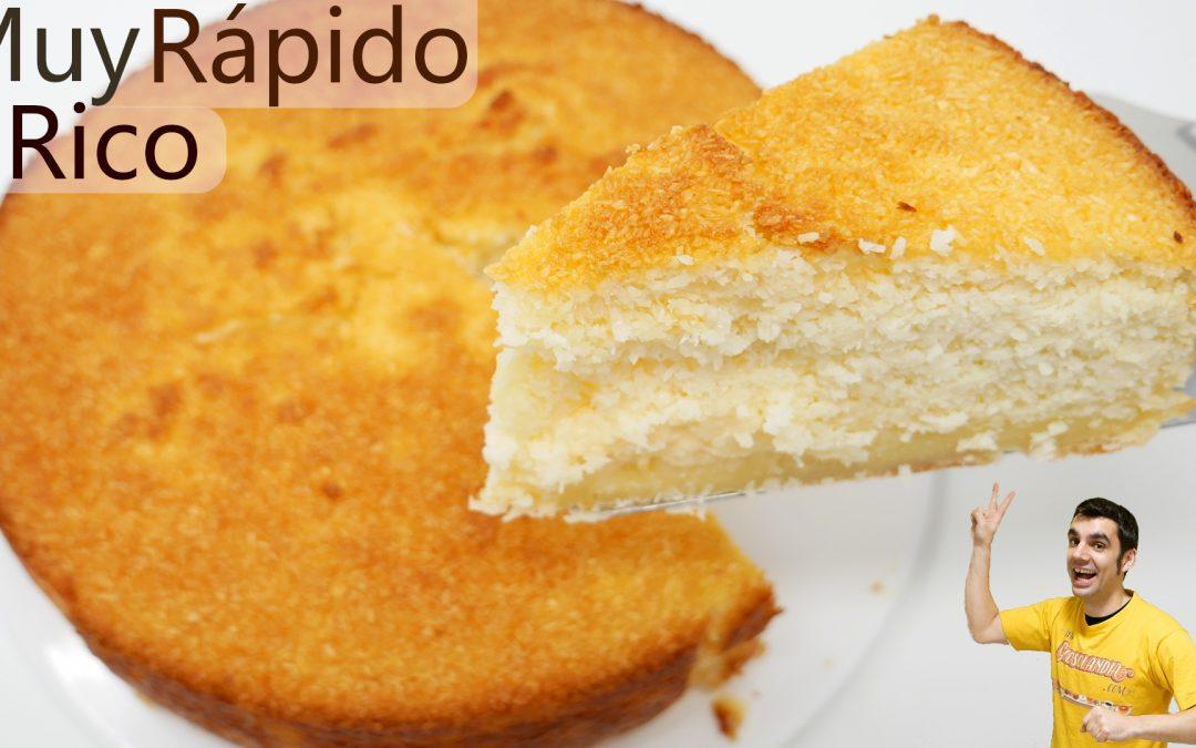 Pastel de coco muy fácil y rico