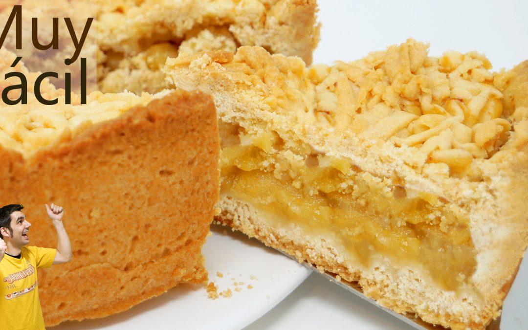 Pastel de manzana y mantequilla