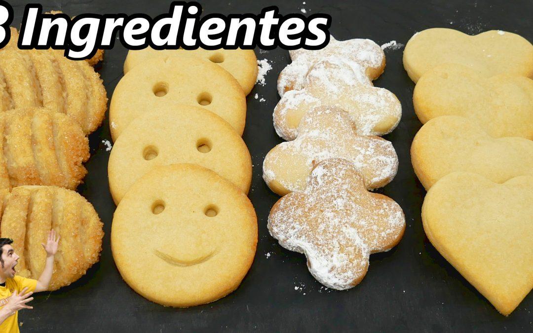 Galletas con 3 ingredientes