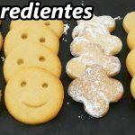 GALLETAS 3 INGREDIENTES, MUY RÁPIDAS y FÁCILES 😍🍪😋 (+4 DECORACIONES) SIN HUEVO😍😍