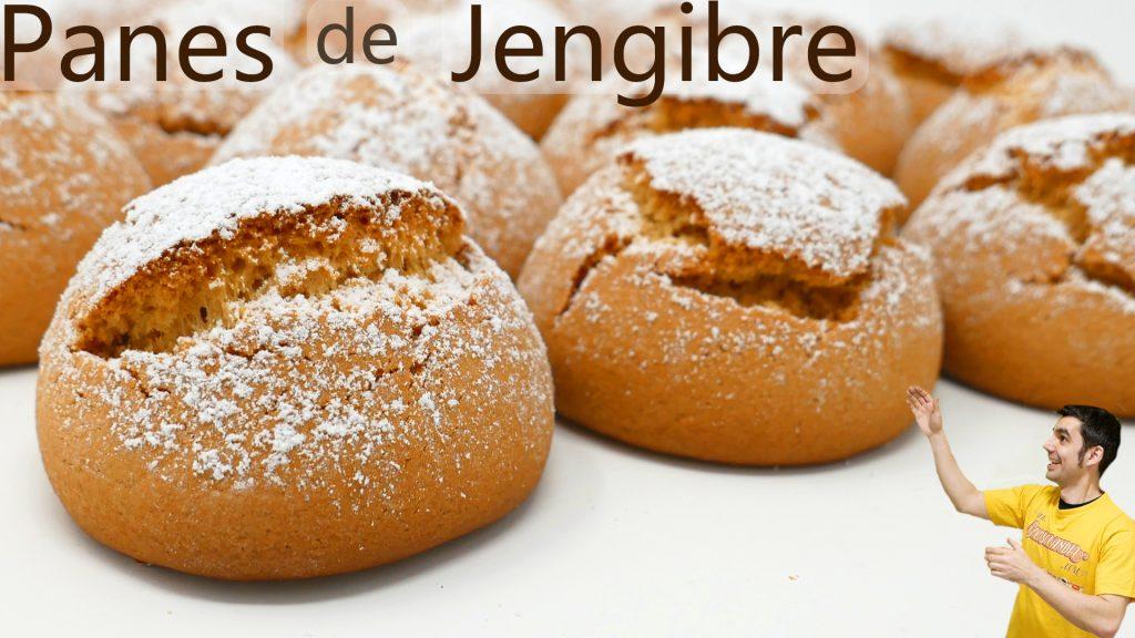 BOLLOS, GALLETAS o PANES de JENGIBRE 🍪😍🎅🏾 (receta FÁCIL y DELICIOSA)