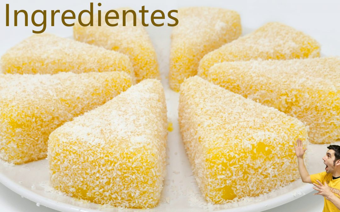 Postre 3 ingredientes de naranja