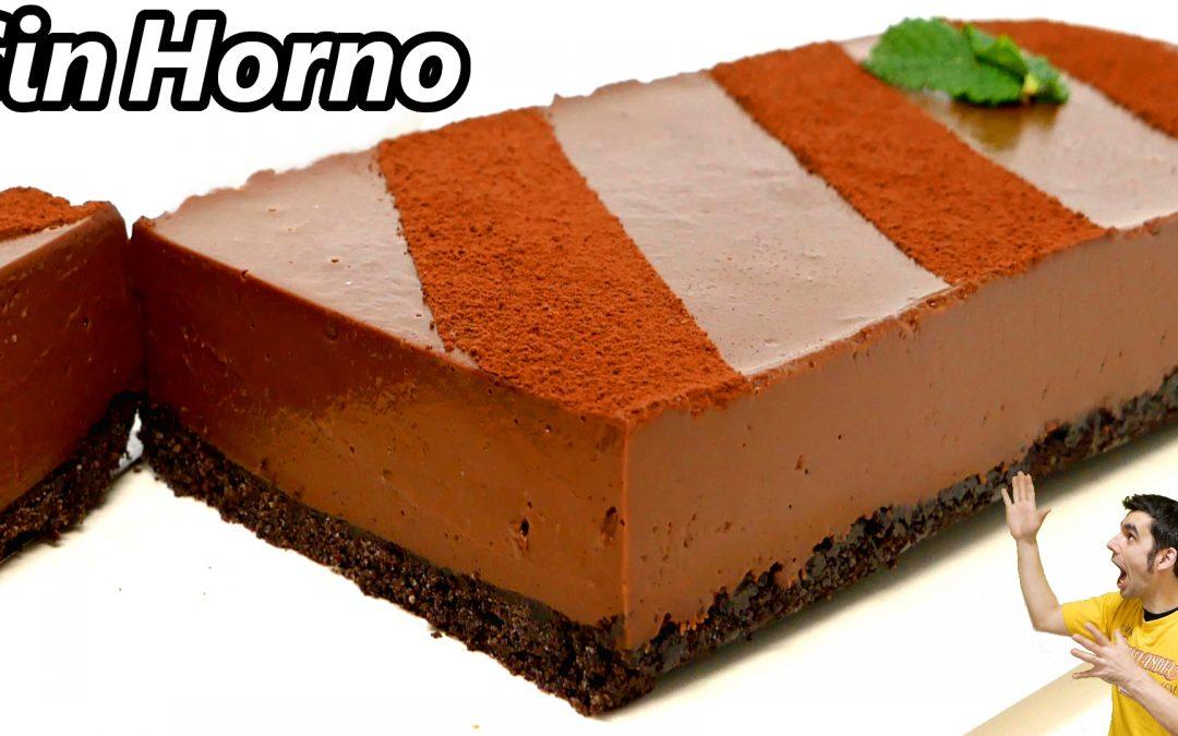 PASTEL de CHOCOLATE 😋🍫😍| SIN HORNO y SIN HUEVO| MUY FÁCIL y DELICIOSO
