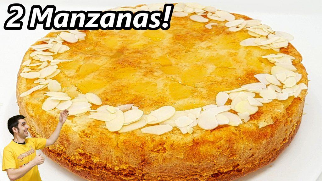 Con 2 MANZANAS y prepara este DELICIOSO PASTEL! ¡Lo harás en 5 MINUTOS! 😍🍏🍎😋(JUGOSO y SORPRENDENTE)
