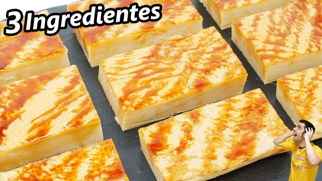 PASTEL de GALLETA o bocados de galleta María (3 INGREDIENTES y MUY FÁCIL)😍🍪😋 Pudin rápido.