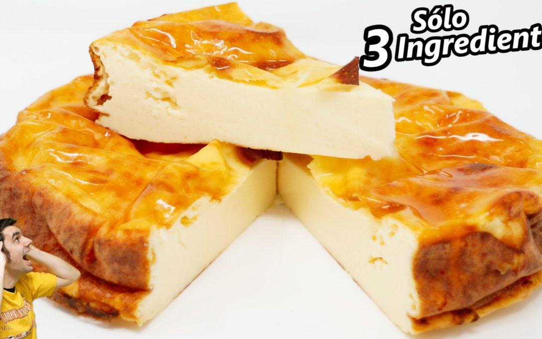 Pastel de yogur con 3 ingredientes
