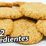 GALLETAS DELICIOSAS solo 2 INGREDIENTES 🍪😍🍪SIN HUEVO, SIN AZÚCAR, SIN HARINA, SIN GRASA Receta # 719